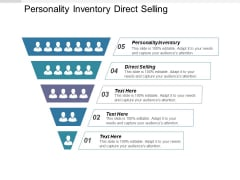 Personality Inventory Direct Selling Ppt PowerPoint Presentation Show Designs Download