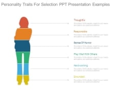 Personality Traits For Selection Ppt Presentation Examples