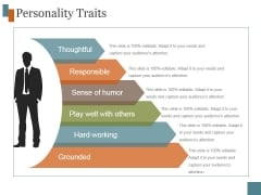 Personality Traits Ppt PowerPoint Presentation Deck