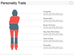 Personality Traits Ppt PowerPoint Presentation Ideas Styles