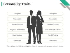 Personality Traits Ppt PowerPoint Presentation Picture