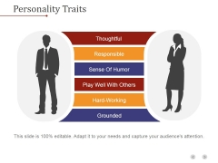 Personality Traits Ppt PowerPoint Presentation Templates
