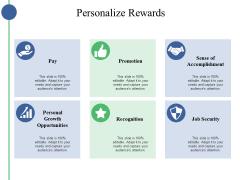 Personalize Rewards Ppt PowerPoint Presentation Portfolio Example