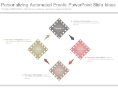Personalizing Automated Emails Powerpoint Slide Ideas