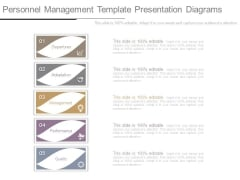 Personnel Management Template Presentation Diagrams