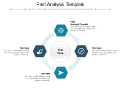 Pest Analysis Template Ppt PowerPoint Presentation Show Graphics Download Cpb Pdf