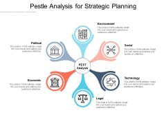 Pestle Analysis For Strategic Planning Ppt PowerPoint Presentation Styles Deck