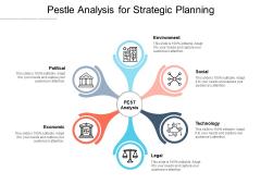 Pestle Analysis For Strategic Planning Ppt PowerPoint Presentation Styles Deck
