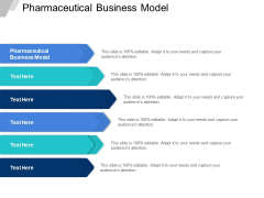 Pharmaceutical Business Model Ppt PowerPoint Presentation Slides Display Cpb