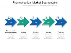 Pharmaceutical Market Segmentation Ppt PowerPoint Presentation Styles Objects Cpb Pdf
