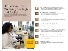 Pharmaceutical Marketing Strategies And Tactics Sample PDF
