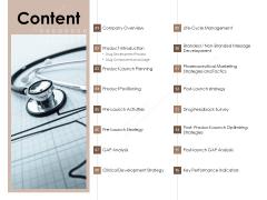 Pharmaceutical Marketing Strategies Content Sample PDF