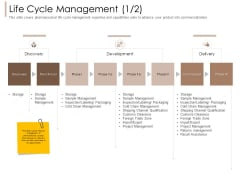 Pharmaceutical Marketing Strategies Life Cycle Management Cold Pictures PDF