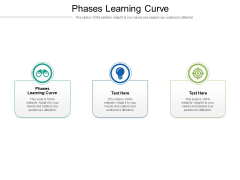 Phases Learning Curve Ppt PowerPoint Presentation Show Graphics Example Cpb Pdf