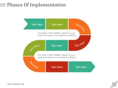 Phases Of Implementation Ppt PowerPoint Presentation Introduction