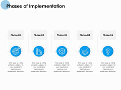 Phases Of Implementation Ppt PowerPoint Presentation Outline Graphics Download