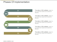 Phases Of Implementation Ppt PowerPoint Presentation Sample