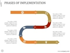 Phases Of Implementation Ppt PowerPoint Presentation Show