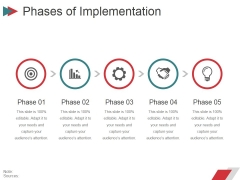 Phases Of Implementation Ppt PowerPoint Presentation Summary Styles