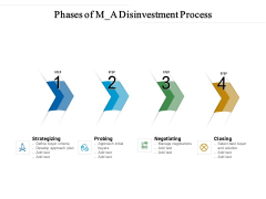 Phases Of M A Disinvestment Process Ppt PowerPoint Presentation Infographic Template PDF