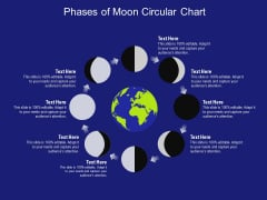 Phases Of Moon Circular Chart Ppt PowerPoint Presentation Gallery Slideshow PDF