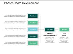 Phases Team Development Ppt Powerpoint Presentation Summary Slideshow Cpb
