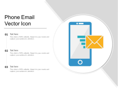 Phone Email Vector Icon Ppt PowerPoint Presentation Infographics Microsoft PDF