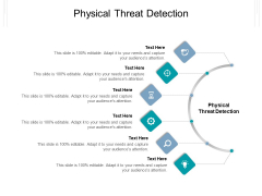 Physical Threat Detection Ppt PowerPoint Presentation Gallery Icons Cpb Pdf