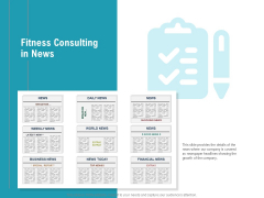 Physical Trainer Fitness Consulting In News Professional PDF