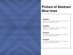 Picture Of Abstract Blue Lines Ppt PowerPoint Presentation Portfolio Sample