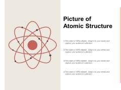 Picture Of Atomic Structure Ppt PowerPoint Presentation Icon Format