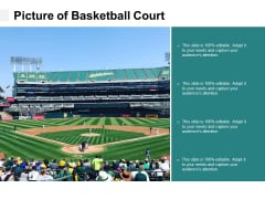 Picture Of Basketball Court Ppt PowerPoint Presentation Outline Example File