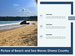 Picture Of Beach And Sea Waves Ghana Country Ppt PowerPoint Presentation Model Examples PDF
