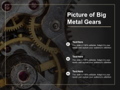 Picture Of Big Metal Gears Ppt PowerPoint Presentation Pictures Tips