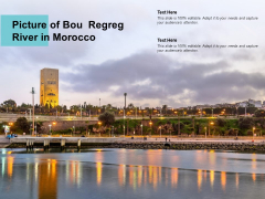 Picture Of Bou Regreg River In Morocco Ppt PowerPoint Presentation Templates