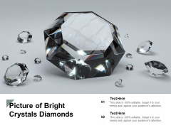Picture Of Bright Crystals Diamonds Ppt PowerPoint Presentation Summary Show
