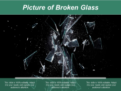 Picture Of Broken Glass Ppt PowerPoint Presentation Ideas Show