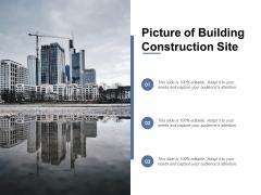 Picture Of Building Construction Site Ppt PowerPoint Presentation Slides Clipart Images