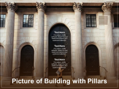 Picture Of Building With Pillars Ppt PowerPoint Presentation Styles Brochure