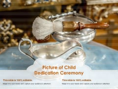 Picture Of Child Dedication Ceremony Ppt PowerPoint Presentation Infographics Templates