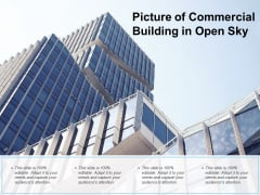 Picture Of Commercial Building In Open Sky Ppt Powerpoint Presentation Outline Microsoft