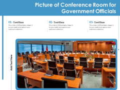 Picture Of Conference Room For Government Officials Ppt PowerPoint Presentation Portfolio Introduction PDF