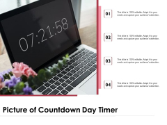 Picture Of Countdown Day Timer Ppt PowerPoint Presentation Slides Designs PDF