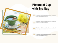 Picture Of Cup With Tea Bag Ppt PowerPoint Presentation Summary Good PDF