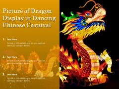 Picture Of Dragon Display In Dancing Chinese Carnival Ppt PowerPoint Presentation Professional Design Templates PDF