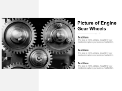 Picture Of Engine Gear Wheels Ppt PowerPoint Presentation Pictures Slides