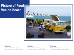 Picture Of Food Van On Beach Ppt PowerPoint Presentation Show Portrait