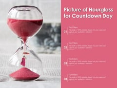 Picture Of Hourglass For Countdown Day Ppt PowerPoint Presentation File Templates PDF