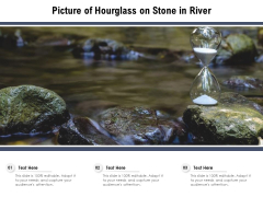 Picture Of Hourglass On Stone In River Ppt PowerPoint Presentation File Mockup PDF