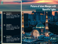 Picture Of Islam Mosque With Beautiful Lights Ppt PowerPoint Presentation Layouts Demonstration PDF